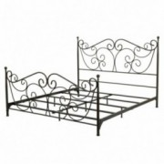 Denise Austin Home Horatio King Size Metal Bed Frame
