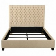 Denise Austin Home Wyoming Tufted Fabric King Bed Set