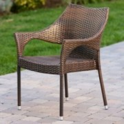 Del Mar Outdoor Wicker Chairs (Set of 2)