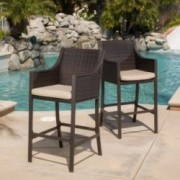 Rani Brown Counter Stool (Set of 2)