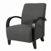 Bravo Dark Gray Fabric Club Chair