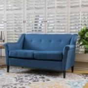 Belka Two Seat Fabric Sofa