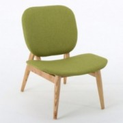Saevish Contemporary Green Fabric Accent Chair