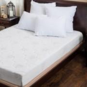Aloe Gel Memory Foam 8 Inch Queen Size Smooth Top Mattress