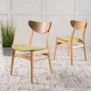 Camilla Scandinavian Design Dining Chairs (set of 2)