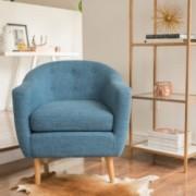 Navaro Mid Century Modern Accent Chair