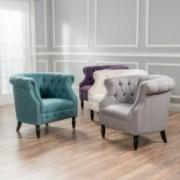 Akula Contemporary High Back Club Chair