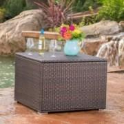San-Louis-Obispo Outdoor Wicker Storage Box