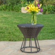 Kavala Wicker Outdoor Accent Table