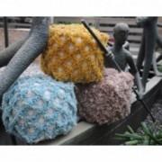 Lamur Fabric Artisan Cube Pouf