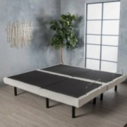 Astor Fabric And Iron Adjustable Bed Base