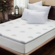 Silica Gel 2 King Size Memory Foam Mattress Topper