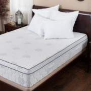 Aloe Gel Memory Foam 13 Inch Queen Size Pillow Top Mattress