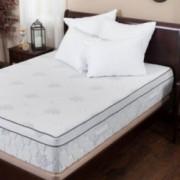 Aloe Gel Memory Foam 13 Inch Queen Size Pillow Top Mattress