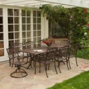 Florence 9pcs Outdoor Dining Set