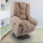 oneinmil Power Lift Recliner Chair - Massage Chairs Full Body and Recliner Heated Lift Chairs for Elderly w/Button & Remote C