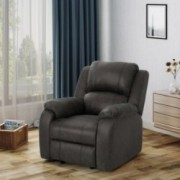 Christopher Knight Home Michelle Gliding Recliner, Slate + Black