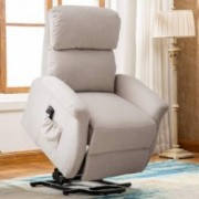 Bonzy Home Lift Chair, 3 Position & Side Pocket, Soft Fabric Power Recliner with Remote, Lift Chair for Elderly, Recliner Cha