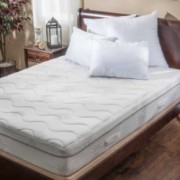 Aloe Gel Memory Foam 11 Inch Queen Size Smooth Top Mattress