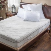 Aloe Gel Memory Foam 11 Inch King Size Smooth Top Firm Mattress
