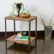 Moorhead Wood Finish Side Table