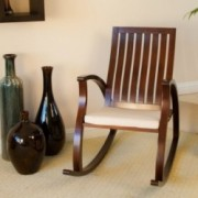 Worcester Brown Rocking Chair