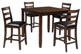 Signature Design by Ashley Coviar Dining Table Set, Brown