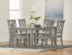 Standard Furniture Vintage Dining Table, Grey