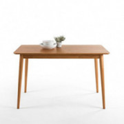 Zinus Jen Mid-Century Modern Wood Dining Table / Natural