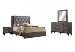 Best Quality Furniture Bedroom Furniture, Walnut Gray