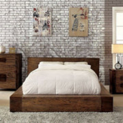 247SHOPATHOME Bedroom set, King, Walnut