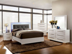 Furniture of America Bedroom Set, White