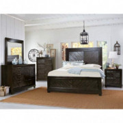 Greyson Living Madison 6-Piece Bedroom Set by Oak Oak Finish Queen