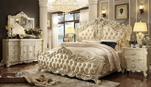 Inland Empire Furniture Serena Eastern King Adult Bed Set