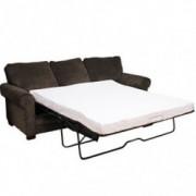 Classic Brands 4.5-Inch Cool Gel Memory Foam Replacement Sleeper Sofa Bed Mattress, Full, White