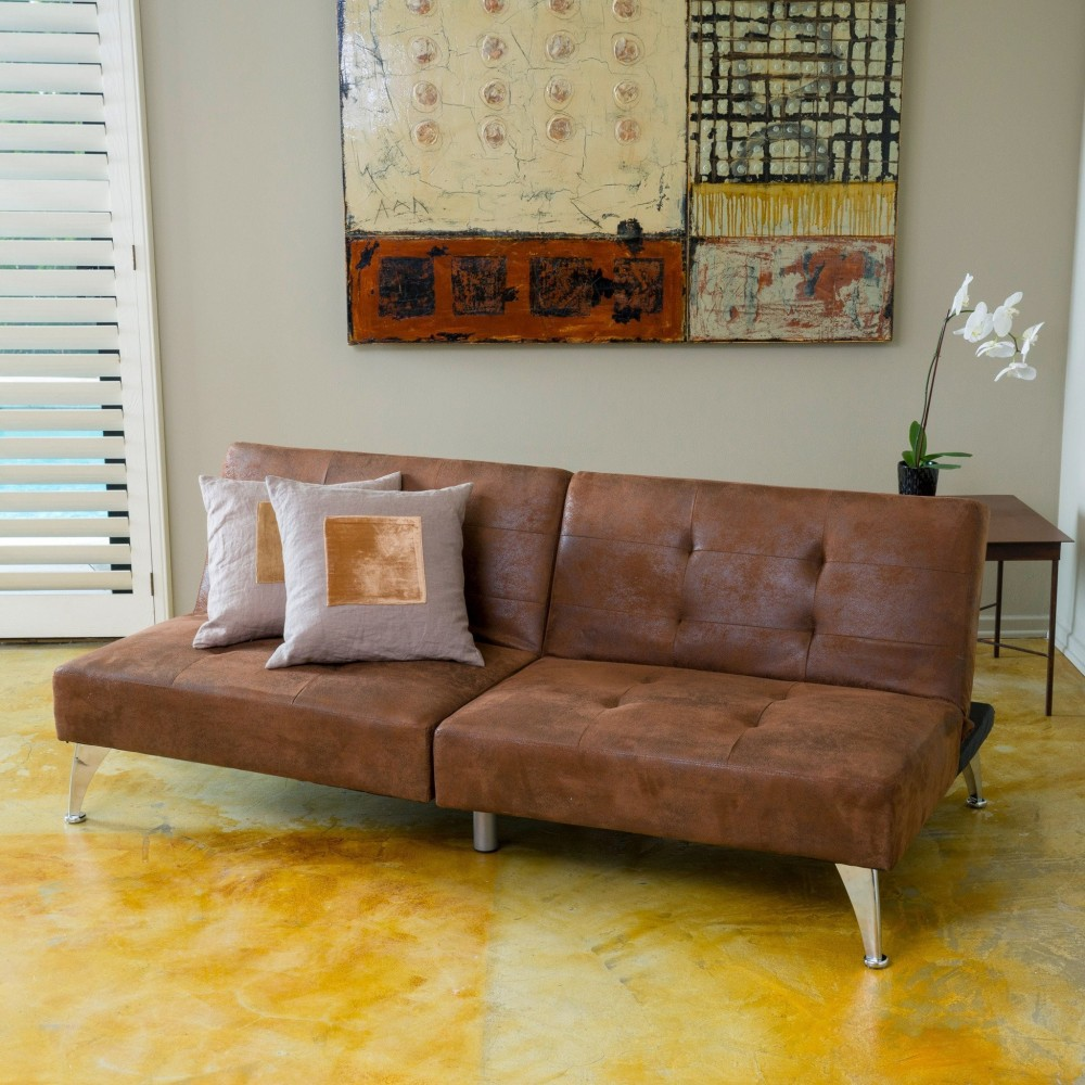 Loveseat Cotton Canvas Couch