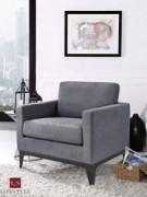 Lifestyle Solutions Corey Armchair, Grey