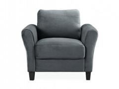 Lifestyle Solutions Watford Chair in Grey, Dark