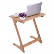 Portable and Foldable Laptop Tray Table - Z Shaped Computer End Couch Console Table Laptop Desk with Storage Bag for Bed Sofa