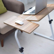 Top- Flipped Z-Shaped Laptop Desk - Adjustable Sofa Lazy Table End Table TV Stand Side Table Snack Tray for Bedside Couch Eat