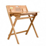Coffee Tables Study Table Office Folding Table Computer Table Wooden Makeup Drawer Table Game Table  Color : Beige, Size : 74