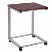 Casart Snack Table Home Simple Modern Design Sofa Couch Side Table End Table Laptop Notebook Stand Over Bed TV Snack Rolling