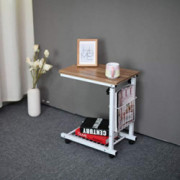 Household Side Table End Table C Table Snack Table Computer Laptop Workstation Coffee Tray Mobile Height Adjustable Desk with