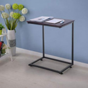 Nesee Sofa Side End Table, C Shaped Table Laptop Holder, End Stand Desk Coffee Tray Side Table, Notebook Tablet Beside Bed So