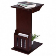Gallity Magazine Snack Table, Sofa Side End Table, Side Coffee Desk Coffee Tray, Coffee End Table Bed Side Table Laptop Desk