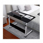 Sofa Table TV Tray End Table Laptop Desk Side Table Snack Tray for Bedside Couch Sofa Eating Writing Reading Living Room - Sh