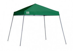 Quik Shade Expedition 10 x 10-Foot Instant Canopy, Slant Leg Outdoor Tent, 64 Square Feet of Shade for 8-12 People - Green