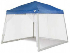 Quest 10 Ft. X 10 Ft. Mesh Screen for Slant Leg Instant Ez up Pop up Recreational Canopy Tent  No Color