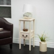 Noah Reclaimed Accent Table w/ Bottom Drawer