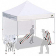 Eurmax Smart 10x10 Pop up Canopy Tent Sport event,Outdoor Festival Tailgate Event Vendor Craft Show Canopy Instant Shelter